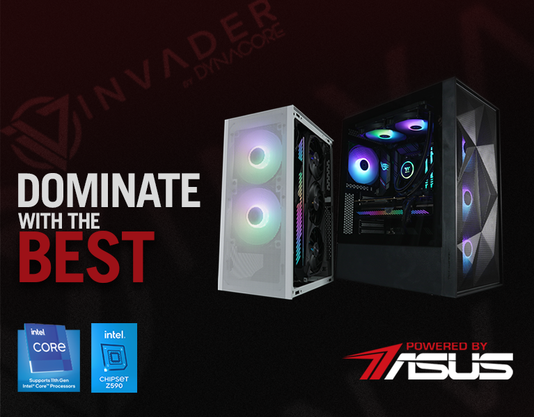 Powered by ASUS banner