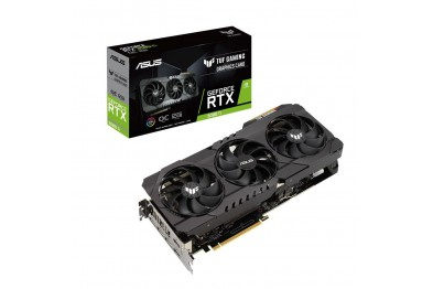 ASUS TUF Gaming GeForce RTX™ 3080 Ti OC Edition 12GB GDDR6X buffed-up design with chart-topping thermal performance