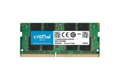 CRUCIAL DDR4 3200MHz 8GB CL22 NOTEBOOK RAM(LIMITED LIFETIME)