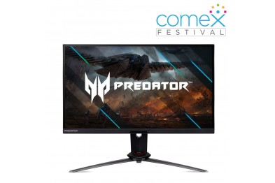 ACER Predator XB273U NV 27-Inch WQHD IPS Gaming Monitor with 170Hz Refresh Rate and G-Sync Compatible