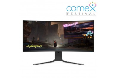 Dell Alienware AW3420DW   34 Inch   WQHD 3440 x 1440   120 Htz Refresh on IPS panel   1900R Curved Display Gaming Monitor   crystal clear graphic with 4.9mil pixels   3YRS Onsite Warranty by Dell