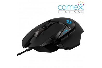 Logitech G502 Hero Wired High Performance Gaming Mouse - 910-005469