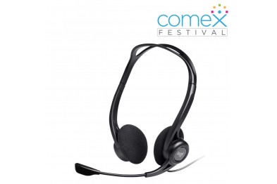 Logitech H370 USB Headset with Noise-Cancelling Microphone - 981-000710