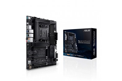 ASUS PRO WS X570-ACE AMD AM4 ATX Workstation Motherboard with 3 PCIe 4.0 x16