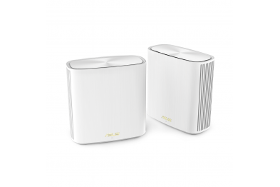 ASUS ZenWiFi XD6 AX5400 Whole-Home Dual-Band Mesh WiFi 6 System – Coverage up to 5,400 Sq. ft. / 4+ rooms, easy setup, life-time free network security & parental controls