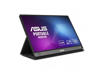 Asus Zenscreen Go MB16AHP 15.6Inch Full HD Portable Monitor IPS Non-Glare Built-in Battery and Speaker Eye Care USB Type-C Micro HDMI