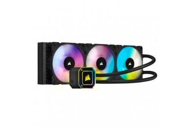 Corsair iCUE H150i ELITE CAPELLIX Liquid CPU Cooler   360mm Radiator   3*ML120 RGB PWM Fans   RGB Pump Head