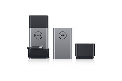 DELL Hybrid Adapter ( Free with USB-C cable ) + 12800mAh Power Bank PH45W17-CA 45W+43Wh for phone and laptop
