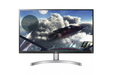 LG 27UP600-W 27In UHD 4K IPS Monitor with VESA DisplayHDR™ 400   27UP600