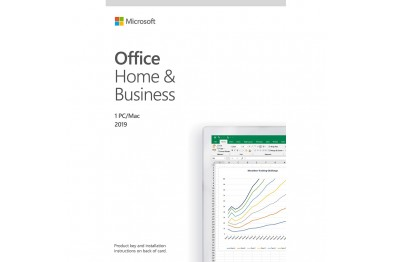 MICROSOFT OFFICE HOME & BUSINESS 2019 (Word/Excel/PowerPoint/Outlook)