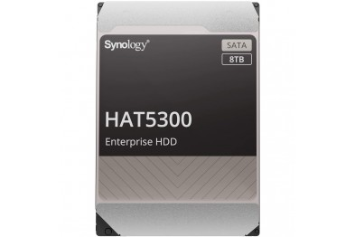 """SYNOLOGY HAT5300-8T 3.5""""8TB 7200RPM 256MB ENTERPRISE NAS HDD (5 YEARS WARRANTY)"""