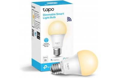 TP-LINK Tapo L510E(2-pack) Dimmable Smart WiFi LED Light Bulb (E27/No Hub required/Works with Google Assistant & Alexa) 1 YEAR WARRANTY BY TP LINK