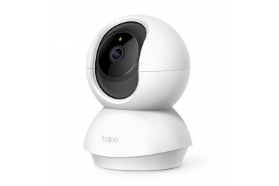 TP-LINK Tapo TC70 CCTV 360 Degree 1080P Full HD Home Security IP Camera (2-Way Audio/Night View/Motion Detection/Up to 128gb Micro SD Storage)