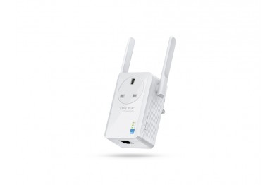 TP-Link TL-WA860RE WiFi Range Extender with AC Passthrough 300Mbps